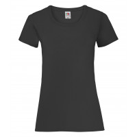 Fruit of the loom Ladies Valueweight T Black