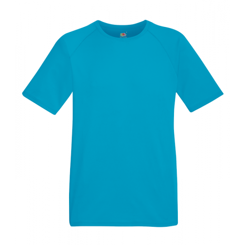 Fruit of the loom Performance T Azure Blue
