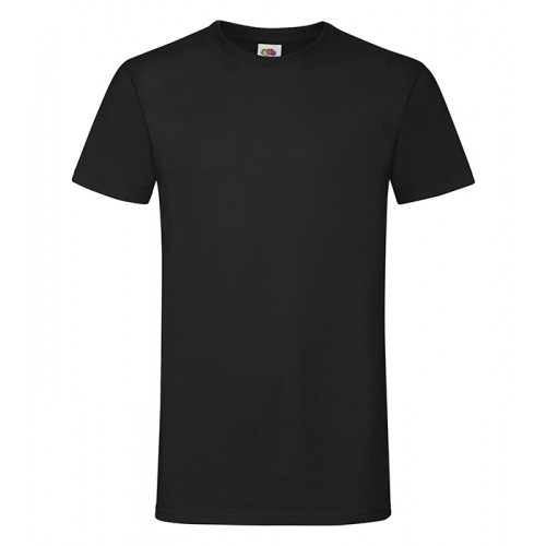 Fruit of the loom Sofspun T Black