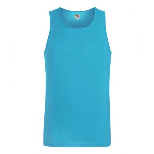 Fruit of the loom Performance Vest Azure Blue
