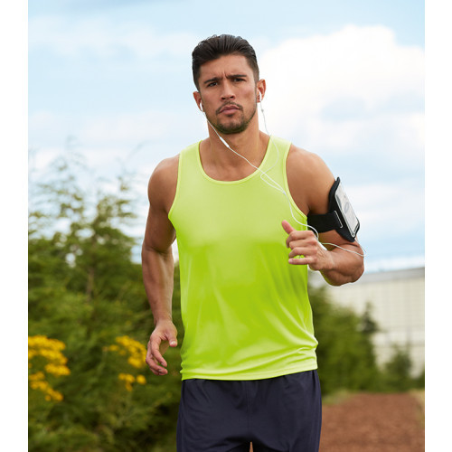 Fruit of the loom Performance Vest Bright Yellow