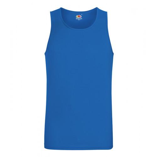 Fruit of the loom Performance Vest Royal Blue