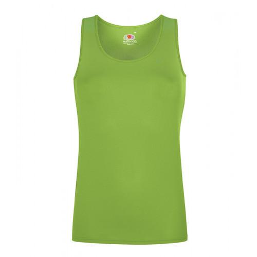Fruit of the loom Ladies Performance Vest Lime