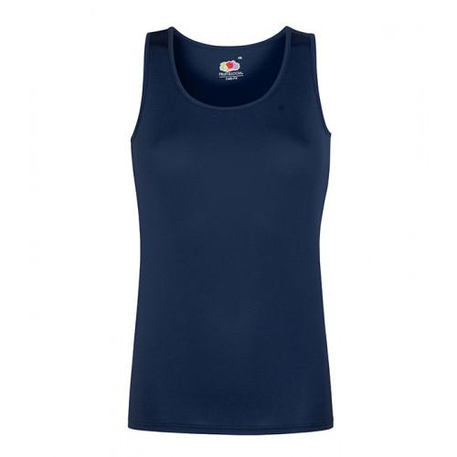 Fruit of the loom Ladies Performance Vest Deep Navy