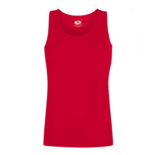 Fruit of the loom Ladies Performance Vest Red