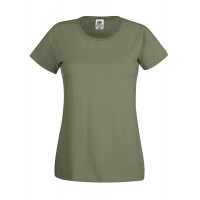 Fruit of the loom Ladies Original T Classic Olive
