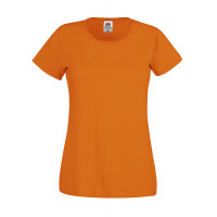 Fruit of the loom Ladies Original T Orange