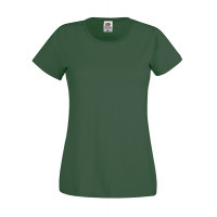 Fruit of the loom Ladies Original T Bottle Green