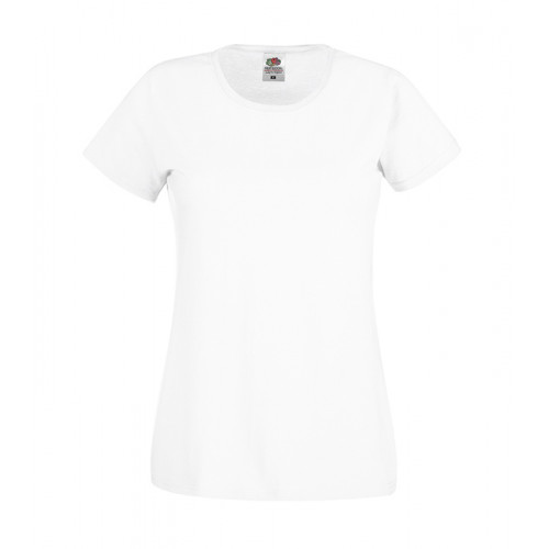 Fruit of the loom Ladies Original T White