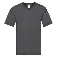 Fruit of the loom Original V-Neck T Light Graphite