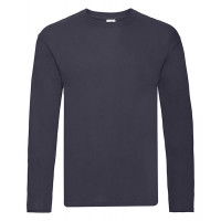 Fruit of the loom Original L/S T Deep Navy