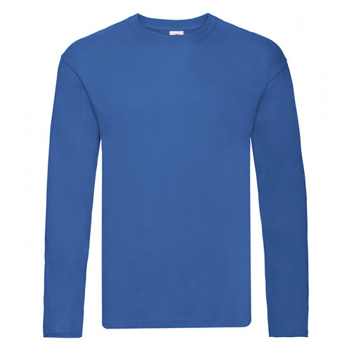 Fruit of the loom Original L/S T Royal Blue