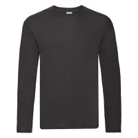 Fruit of the loom Original L/S T Black