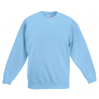 Fruit of the loom Kids Classic Set In Sweat Sky Blue