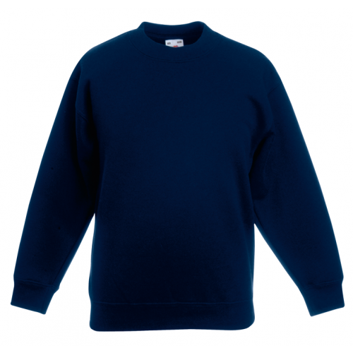Fruit of the loom Kids Classic Set In Sweat Navy