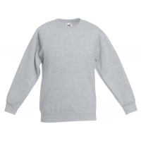 Fruit of the loom Kids Classic Set In Sweat Heather Grey