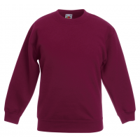 Fruit of the loom Kids Classic Set In Sweat Burgundy