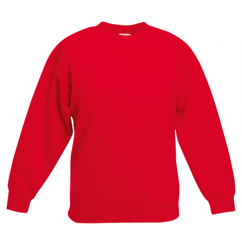 Fruit of the loom Kids Classic Set In Sweat Red