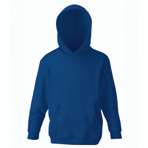 Fruit of the loom Kids Classic Hooded Sweat Navy