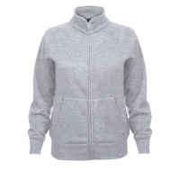 Fruit of the loom Ladies Sweat Jacket Heather Grey