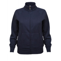 Fruit of the loom Ladies Sweat Jacket Deep Navy