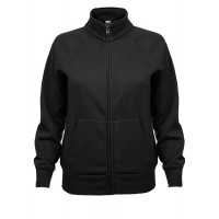 Fruit of the loom Ladies Sweat Jacket Black