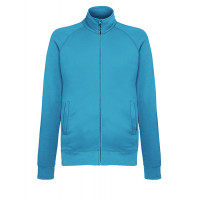 Fruit of the loom Lightweight Sweat Jacket AZURE