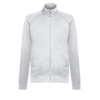 Fruit of the loom Lightweight Sweat Jacket HEATHER GREY