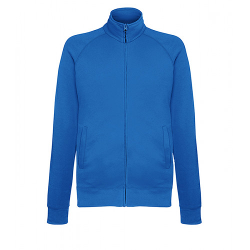 Fruit of the loom Lightweight Sweat Jacket ROYAL BLUE