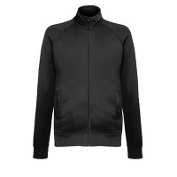 Fruit of the loom Lightweight Sweat Jacket Black