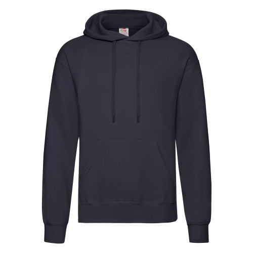 Fruit of the loom Classic Hooded Sweat Deep Navy