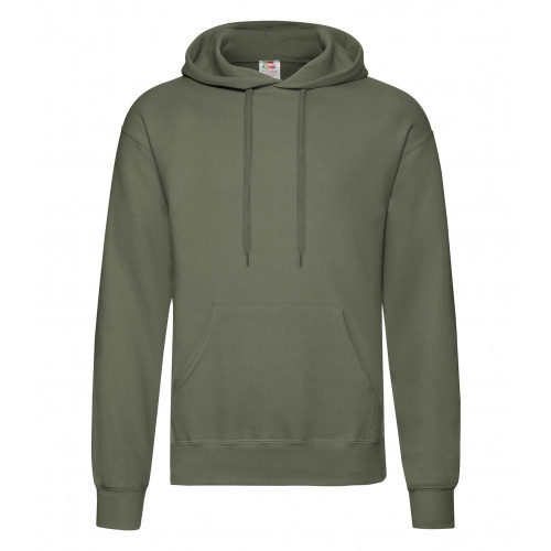 Fruit of the loom Classic Hooded Sweat Classic Olive