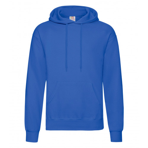 Fruit of the loom Classic Hooded Sweat Royal Blue