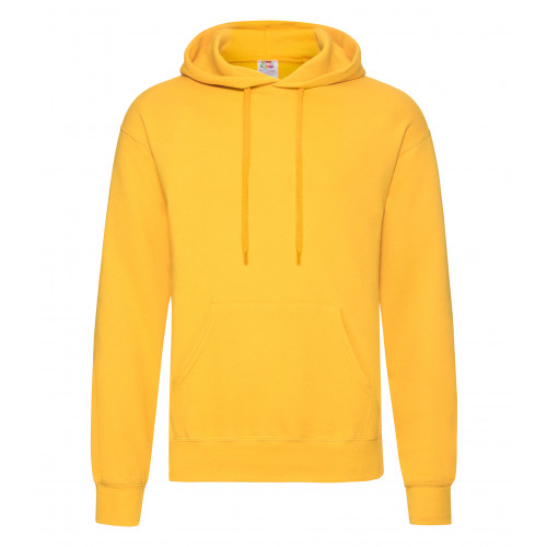 Fruit of the loom Classic Hooded Sweat Sunflower