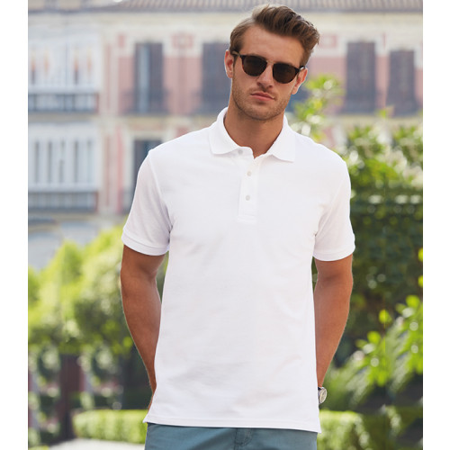 Fruit of the loom Heavy Polo White