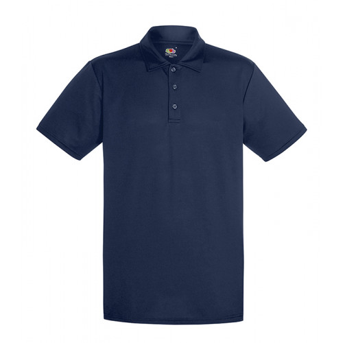 Fruit of the loom Performance Polo Deep Navy