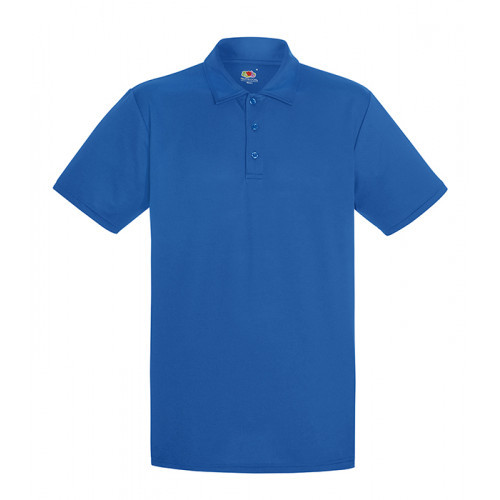 Fruit of the loom Performance Polo Royal Blue