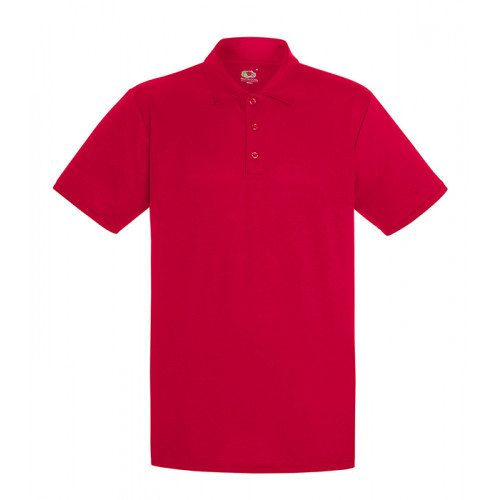 Fruit of the loom Performance Polo Red