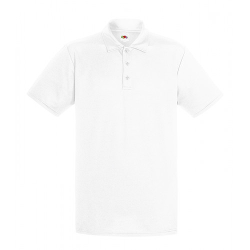 Fruit of the loom Performance Polo White