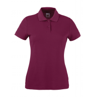 Fruit of the loom Ladies 65/35 Polo Burgundy