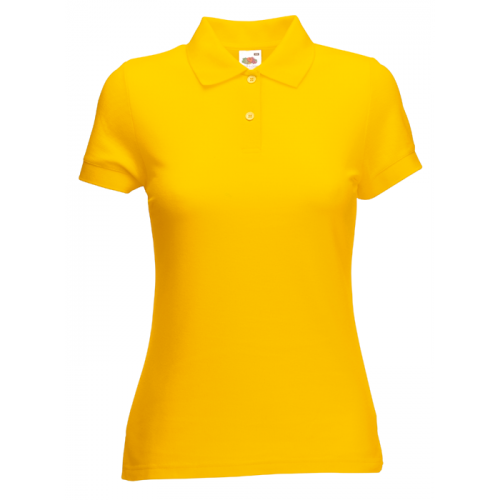 Fruit of the loom Ladies 65/35 Polo Sunflower