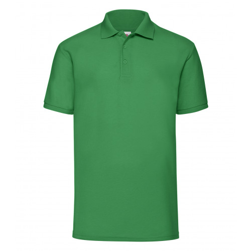 Fruit of the loom 65/35 Polo Kelly Green