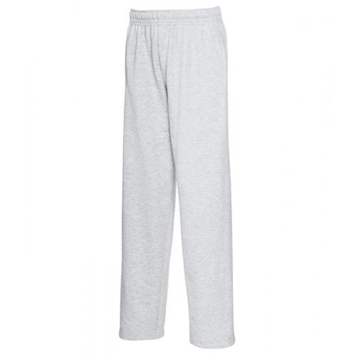 Fruit of the loom Kids Lightweight Open Hem Jog Pants Heather Grey