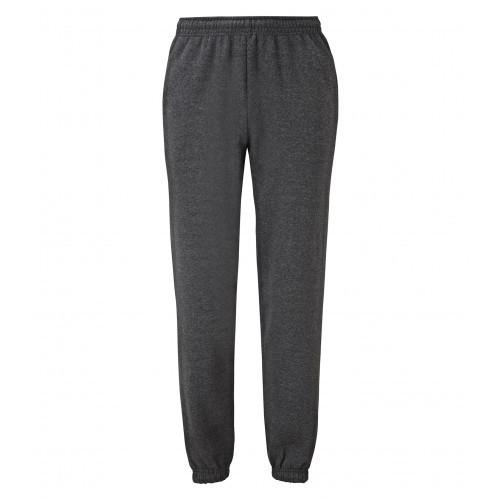Fruit of the loom Classic Elasticated Cuff Jog Pants Dark Heather Grey