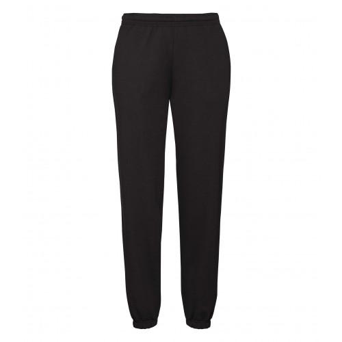 Fruit of the loom Classic Elasticated Cuff Jog Pants Black