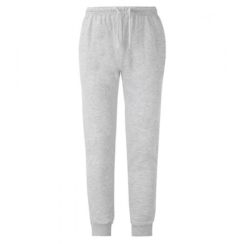 Fruit of the loom Lightweight Cuffed Jog Pants Heather Grey