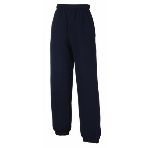 Fruit of the loom Kids Classic Elasticated Cuff Jog Pants Deep Navy
