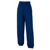 Fruit of the loom Kids Classic Elasticated Cuff Jog Pants Navy