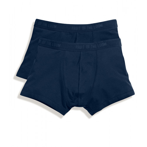 Fruit of the loom Classic Shorty 2 Pack Deep Navy