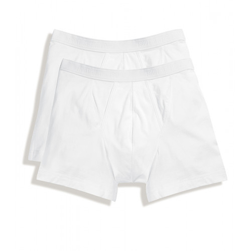 Fruit of the loom Classic Boxer 2 Pack White
